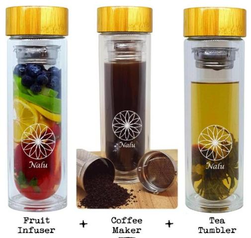 Nalu Sun Fruit Infuser Bottle